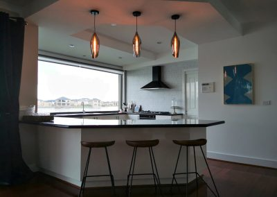 kemoo design kitchen pendant lit